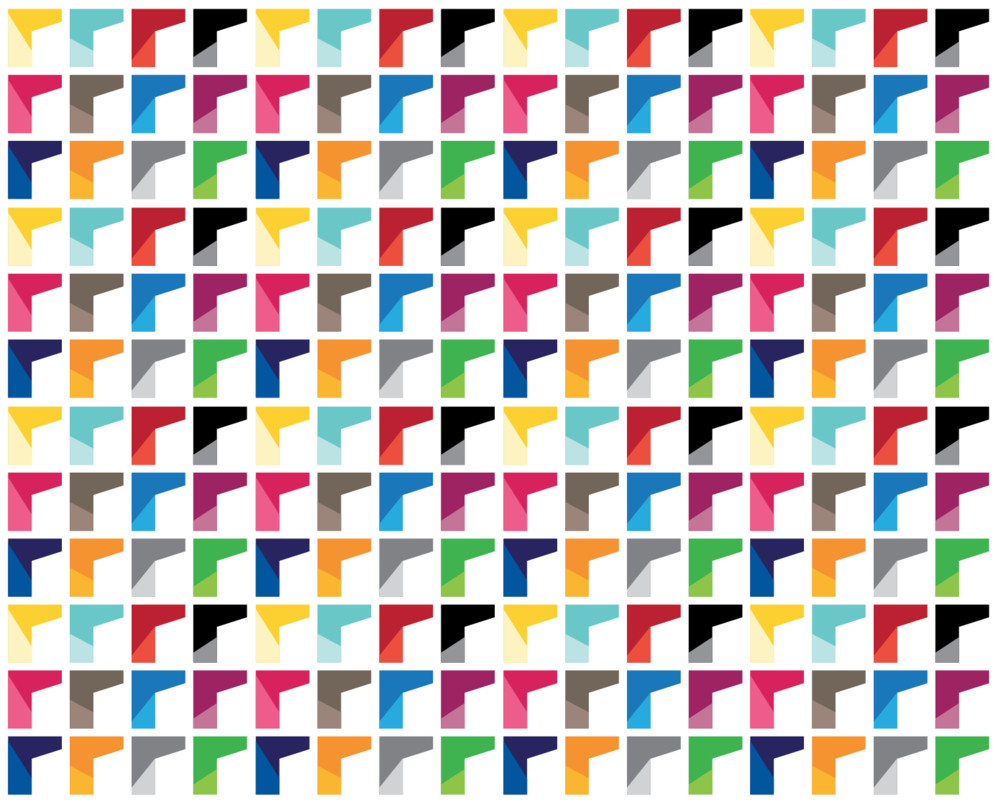 Full colour brand pattern