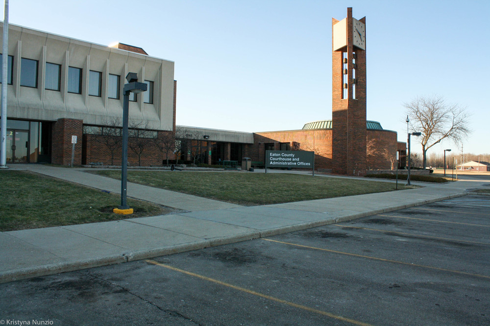 """The 56A District and 56 Circuit Courthouse in Eaton County"""