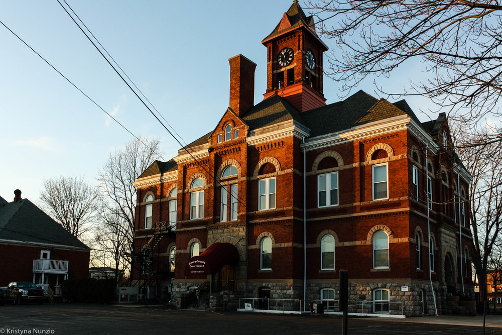 """""""56B District Courthouse in Hastings"""""""
