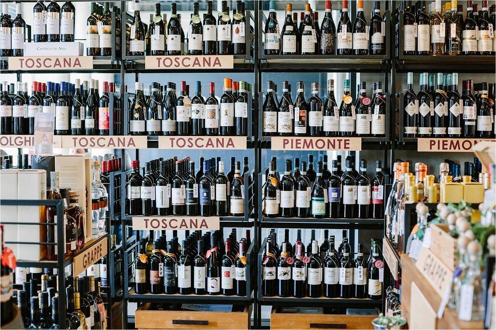 Wine. All the wine.