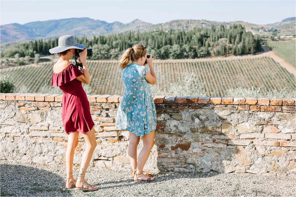 Just my pretty friends photographing pretty things.