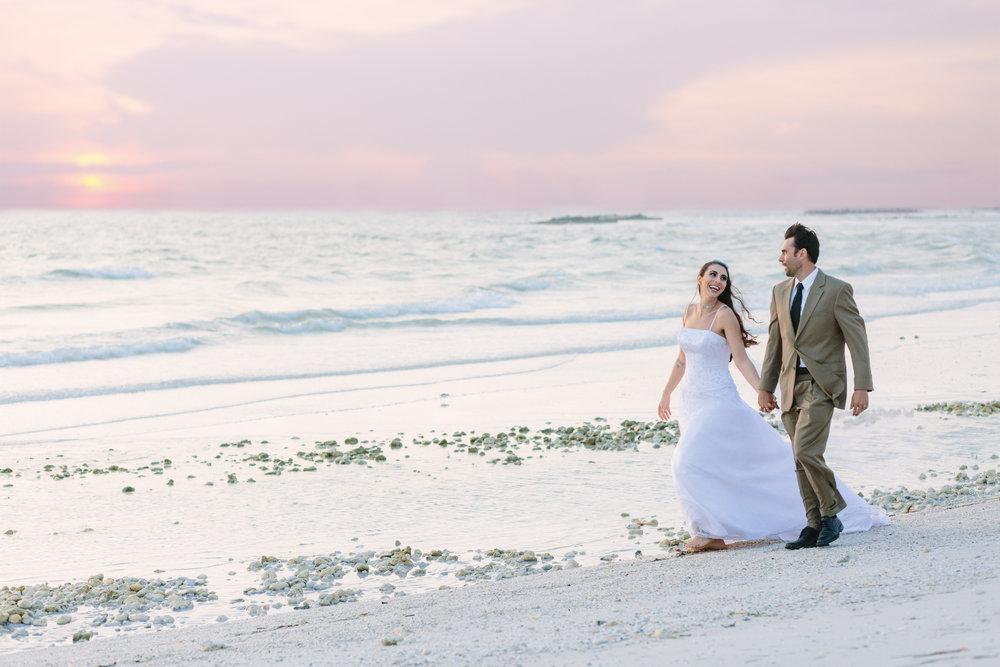 Honeymoon Island Wedding shoot