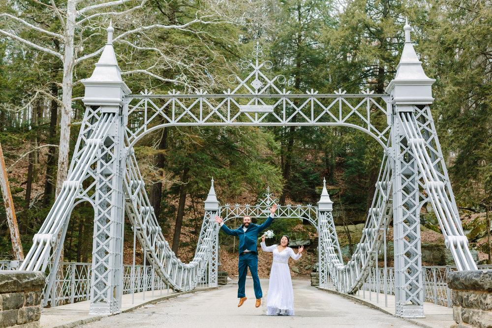 Cinderella Bridge at Millcreek Wedding