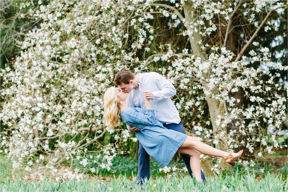 Inniswood Metro Gardens fine art engagement photography session in Columbus, Ohio