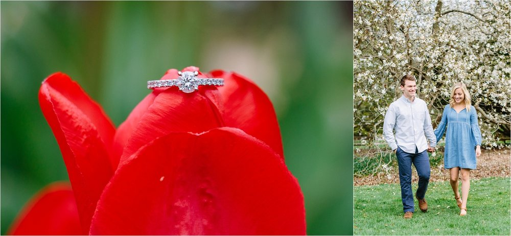 I was SO excited to use the tulips for ring shots!