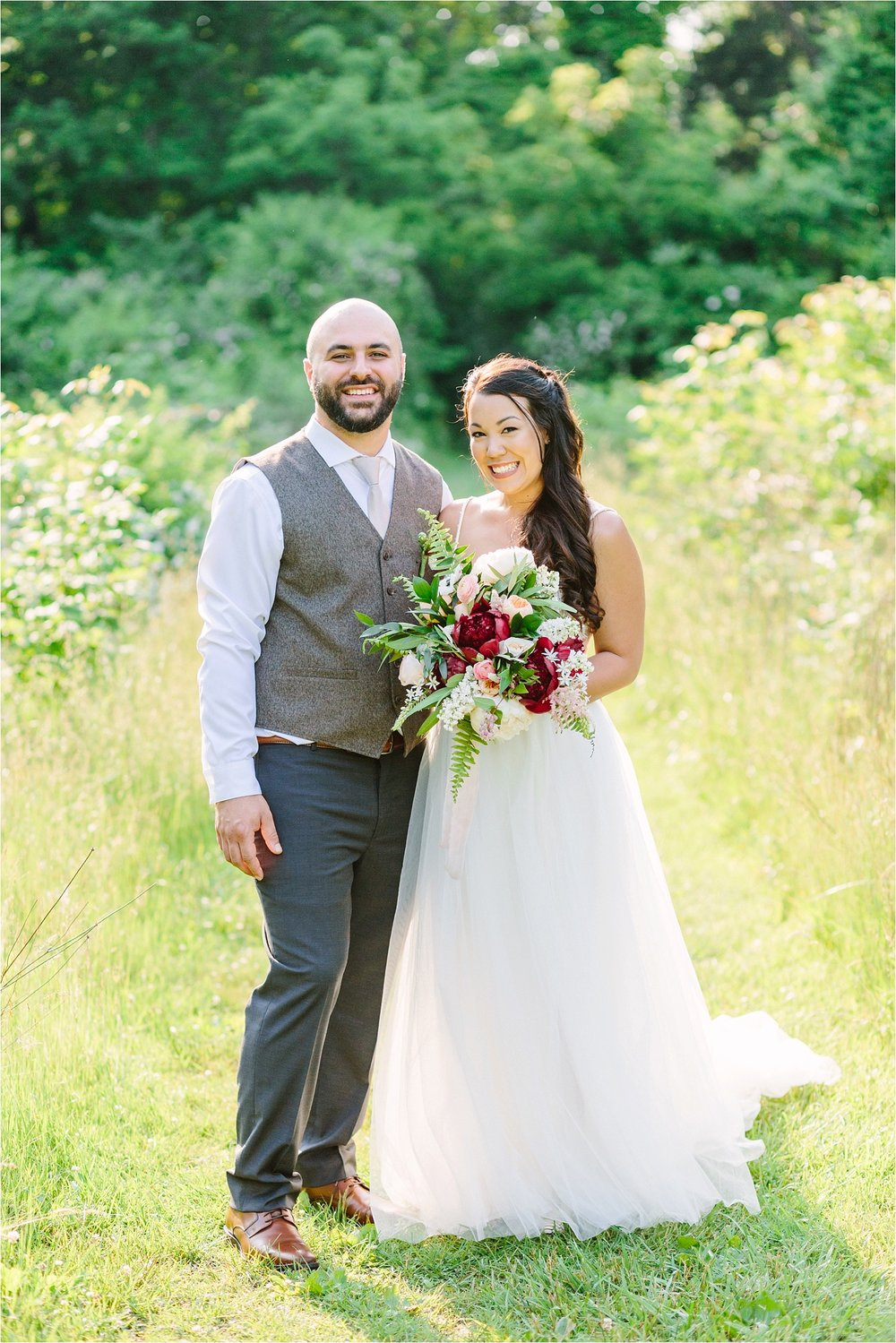 Their summer wedding in  Cuyahoga Valley National Park  was one for the books!