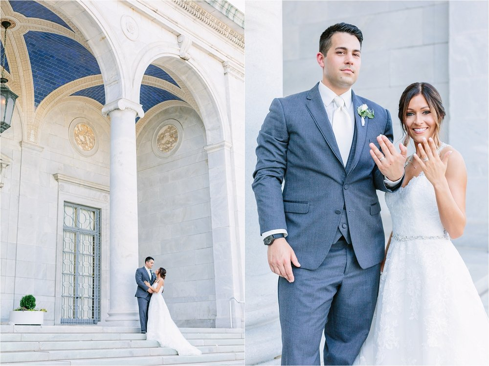 The Butler Institute of American Art  in Youngstown has some of the prettiest architecture. It's a hot spot for wedding photos!
