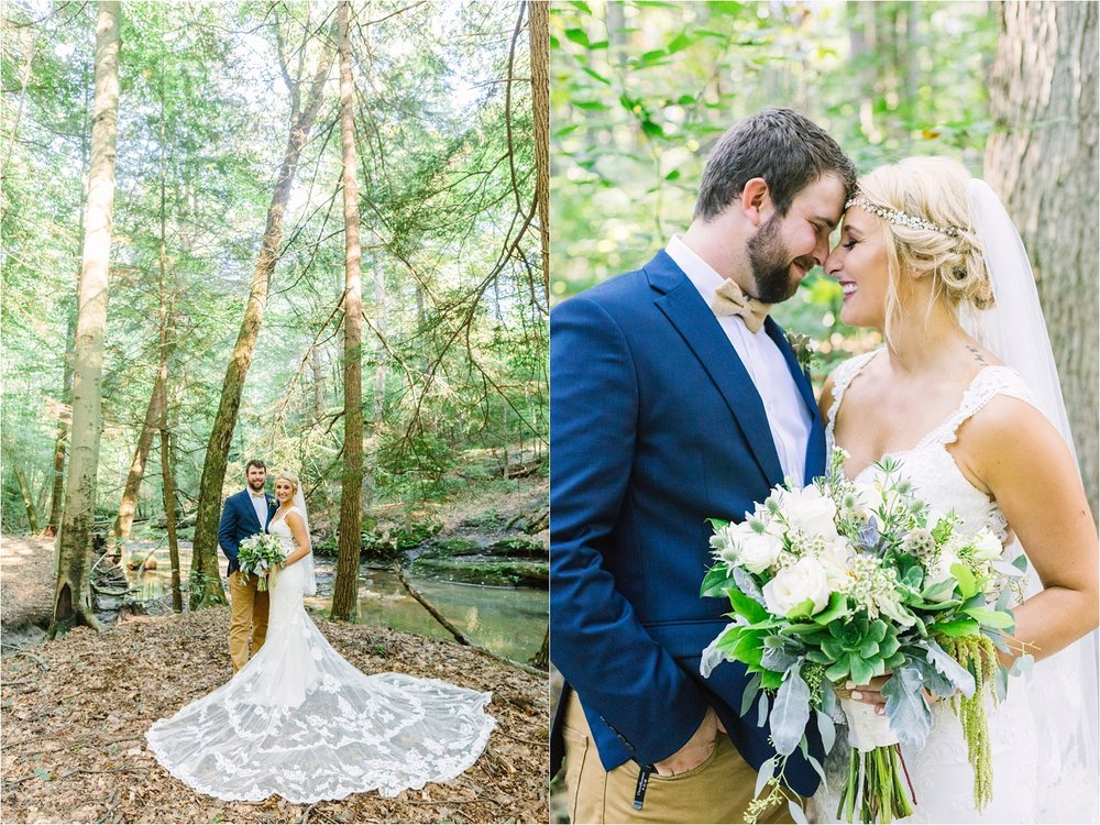 I couldn't image a better venue for these two than  Alford's Glen . So much nature and greenery!
