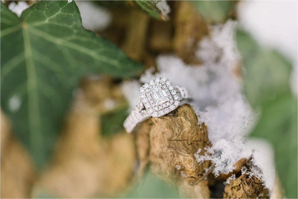 Isn't Lauren's ring a beauty?!