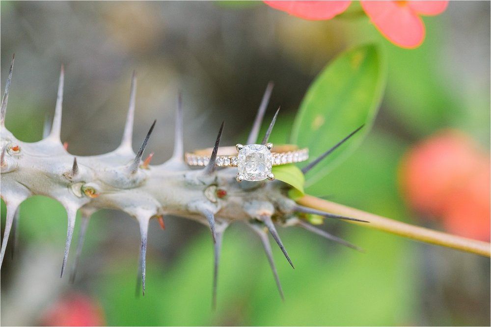 Isn't this ring stunning?! Love these southwestern plants, too!!!