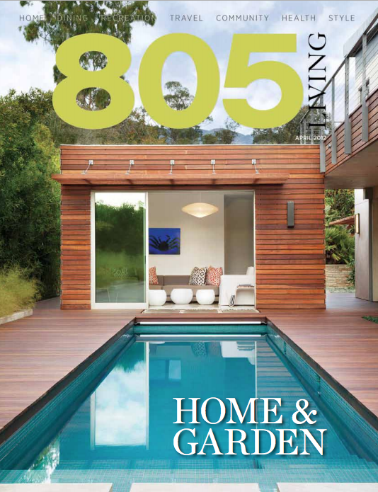 Jeff Shelton Architect in 805 Magazine