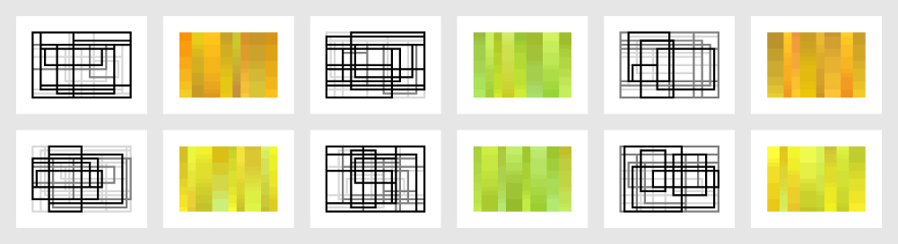PORTFOLIO 3 - REBUILD   New portfolio 3 prints using updated Processing programs.