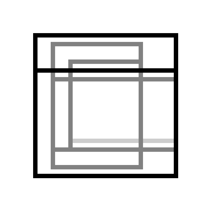 rectangle study 25