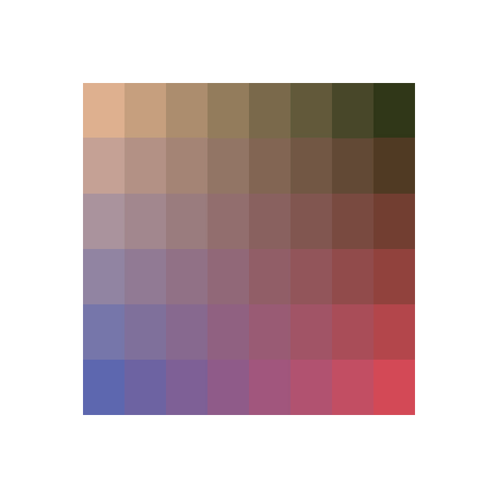 color palette 32