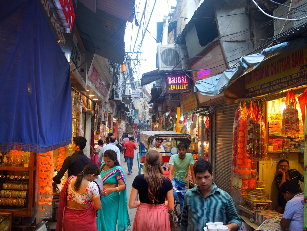 markets of real India