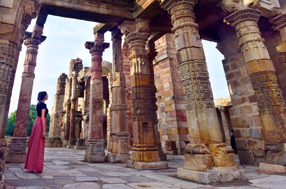 Monuments inside Qutab Complex