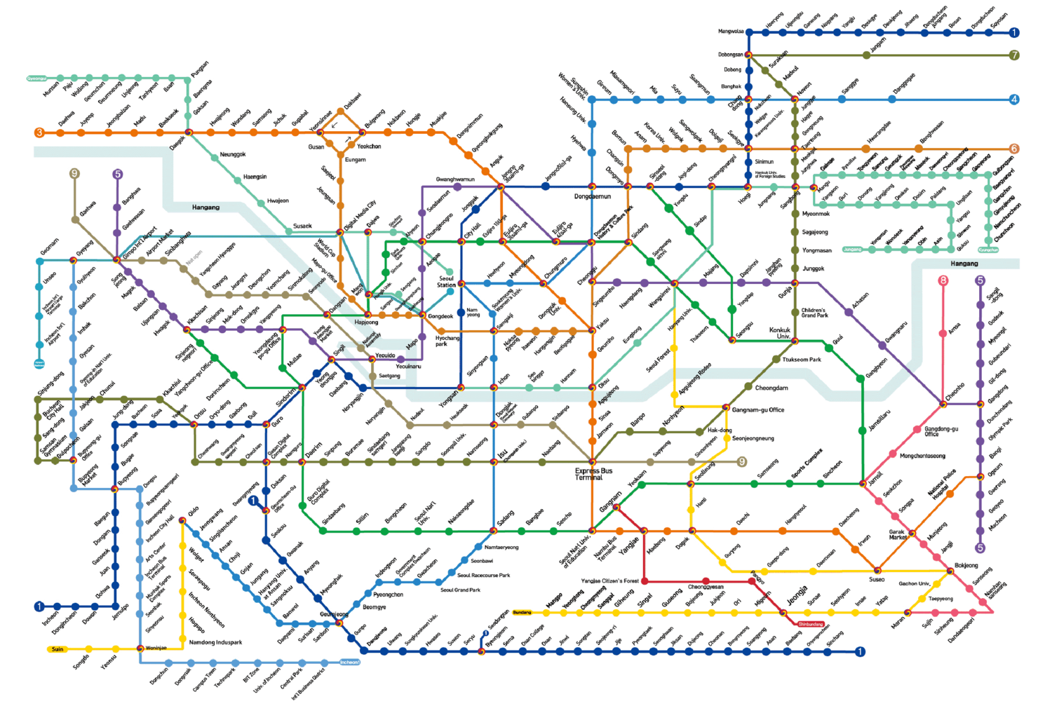 Seoul South Korea Subway Map.Using The Seoul Metro Where To Next Budget Travel Tips Solo Female Travel Help Travel Guides Travel Inspiration Travel Photography