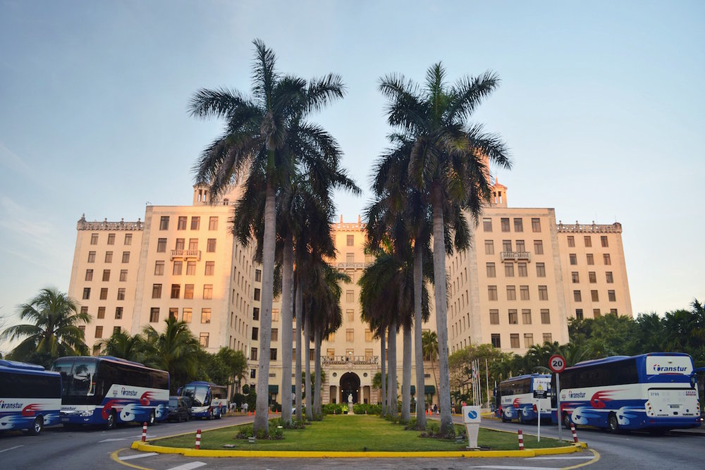 Go to the Hotel Nacional in Havana Cuba to enjoy the sunset that overlooks the Malecon. The mojitios are expensive but worth it for the view -  Tessa Juliette | http://travelwheretonext.com