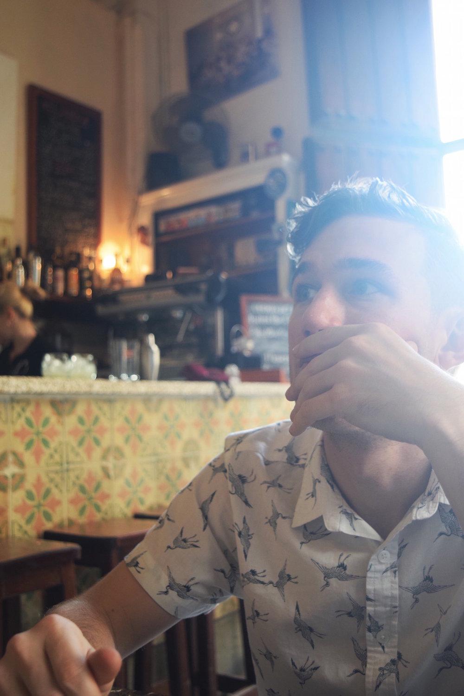 deciding what to eat in havana cuba