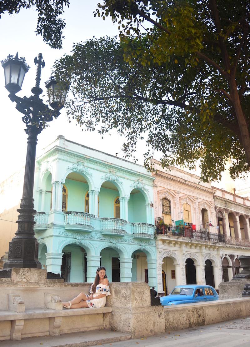 Walking along the road in Havana Cuba is definitely one of my favorite things about Cuba - -  Tessa Juliette | http://travelwheretonext.com/cuba