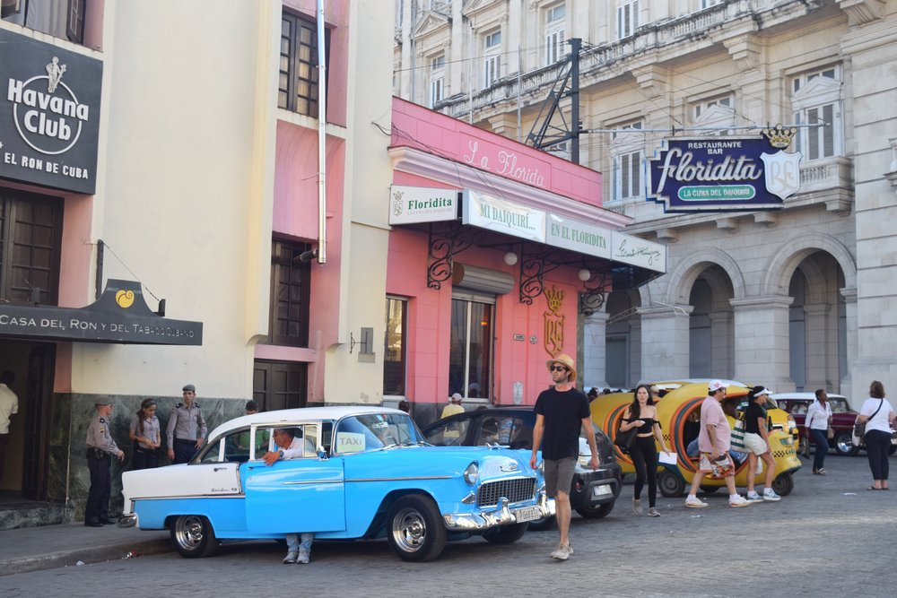 One of the best places to eat in Havana Cuba. La Floridita home to the original daiquiri and a favorite of hemingway!  -   Tessa Juliette | http://travelwheretonext.com/cuba
