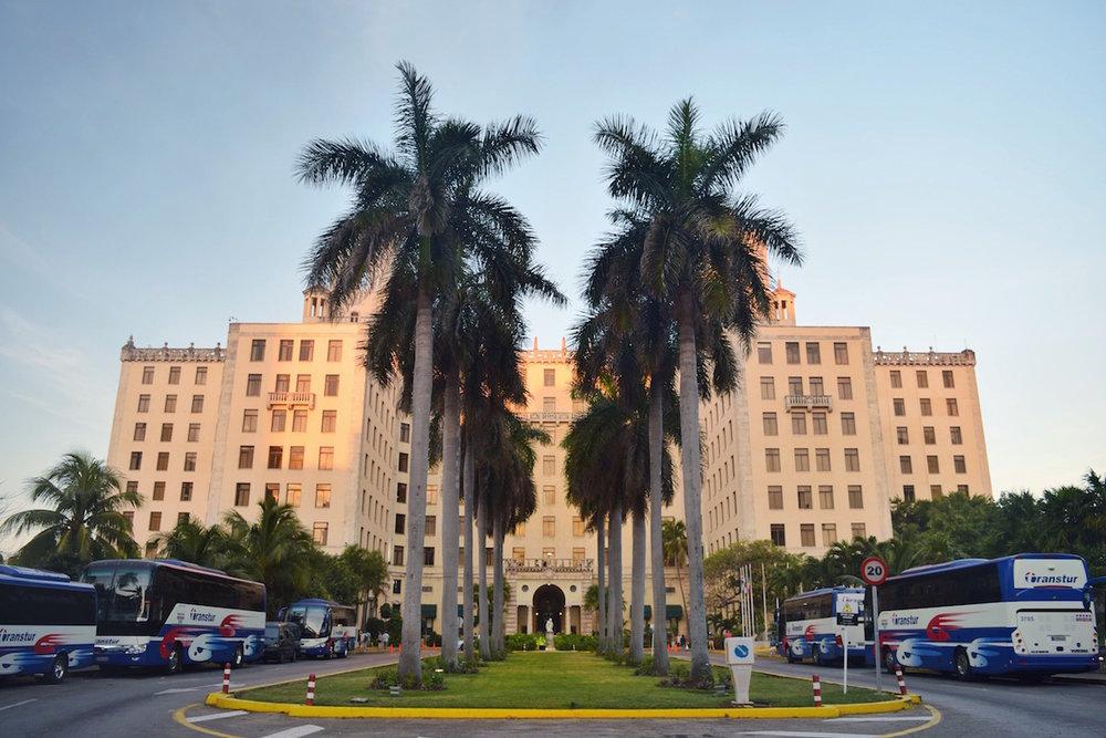 Hotel Nacional in Cuba