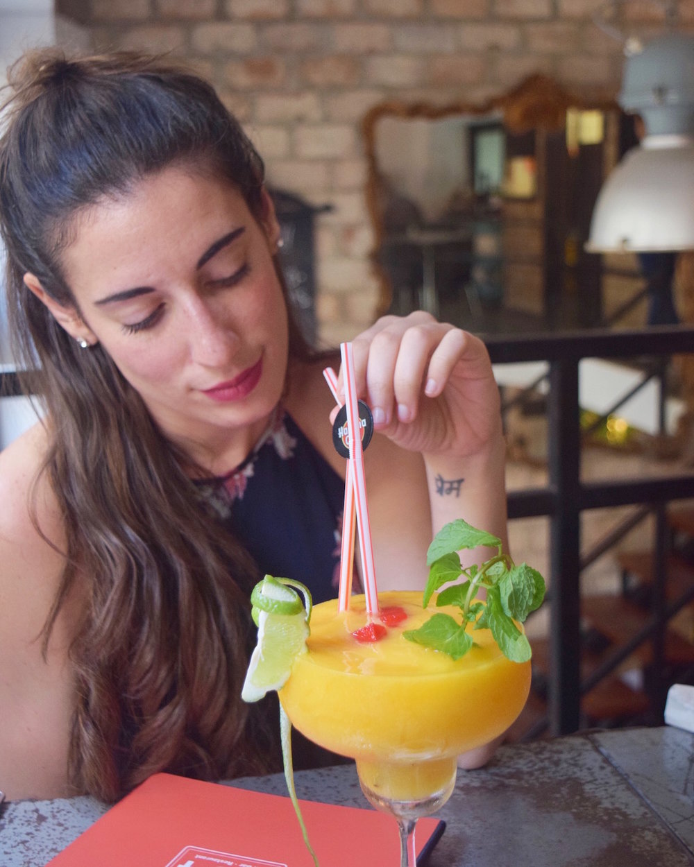 Eating in Havana Cuba