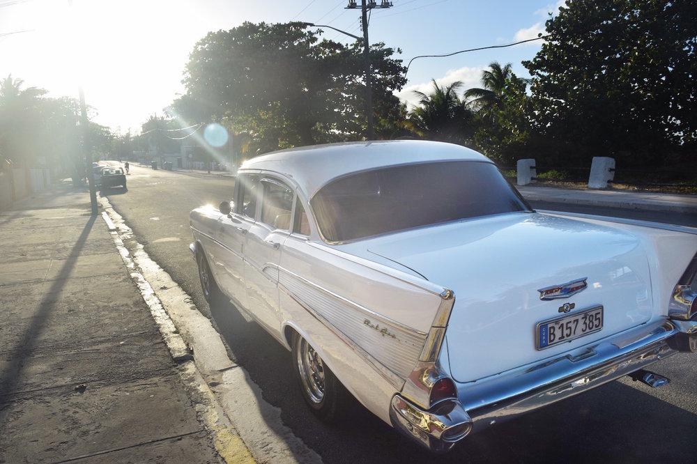Our car from Havana to Varadero
