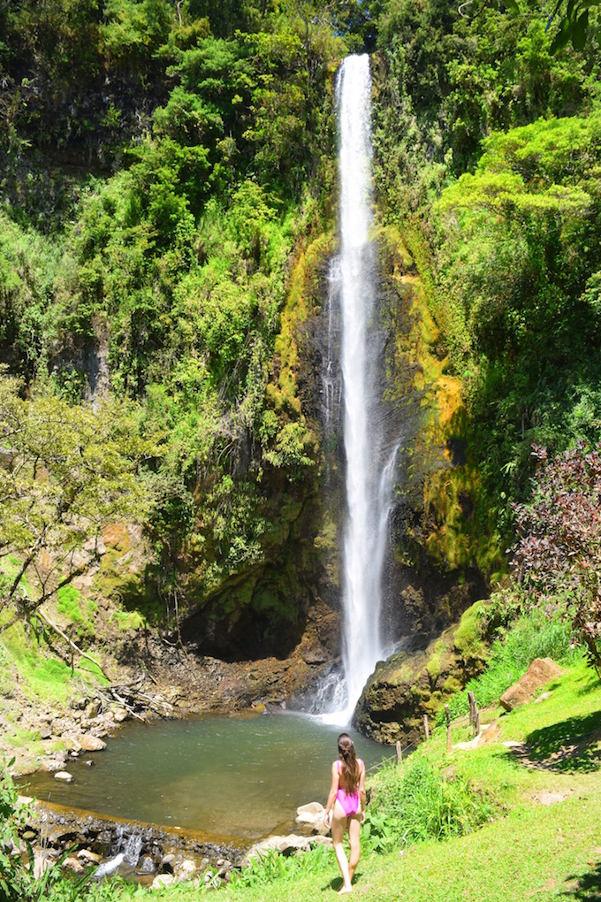 So many perfect waterfalls in Costa rica.   One of the best things to do in Costa Rica.   Tessa Juliette | Travel Where to Next http://travelwheretonext.com