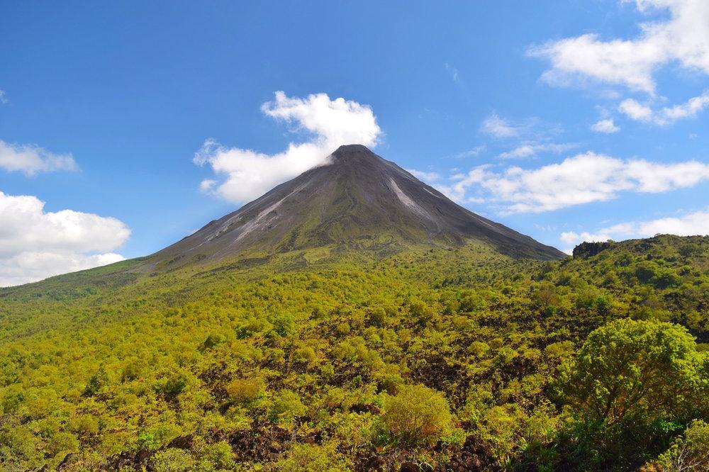 Arenal Volcano in La Fortuna Costa Rica