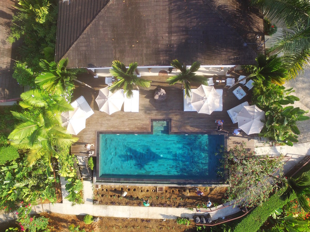 Overhead view of Oxygen Jungle Villas -   Best Luxury Hotel Costa rica. Top hotel on trip advisor and top hotel for honeymoons in costa rica. Top couples hotel in Costa rica. Top boutique hotel in costa rica.  Tessa Juliette - Travel Where to Next http://travelwheretonext.com