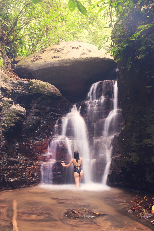 Waterfall on Property at Oxygen Jungle Villas