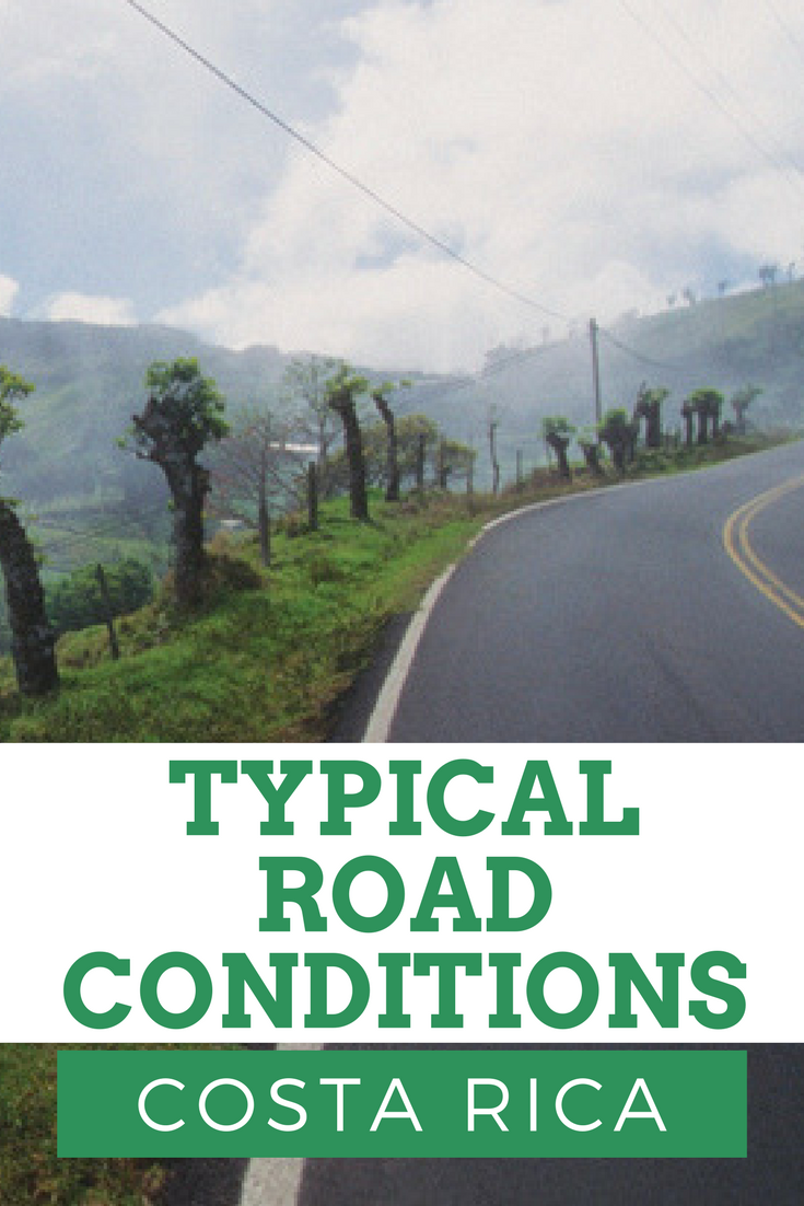 Typical road conditions in Costa Rica - What to expect when driving in Costa Rica - Tessa Juliette - Travel Where to Next Blog - http://travelwheretonext.com