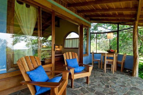suite deck at Hotel Mystica Costa Rica