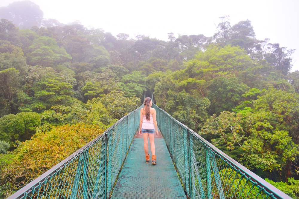best hanging bridges costa rica