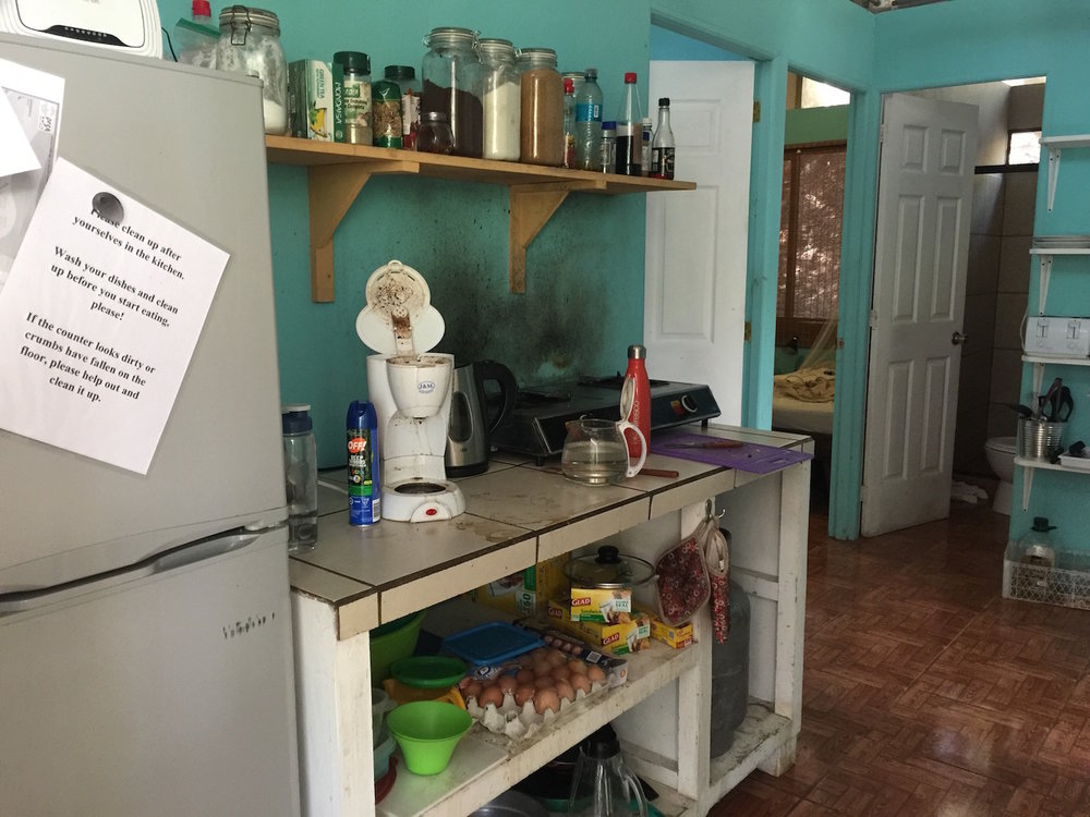 Kitchen for Volunteer Program
