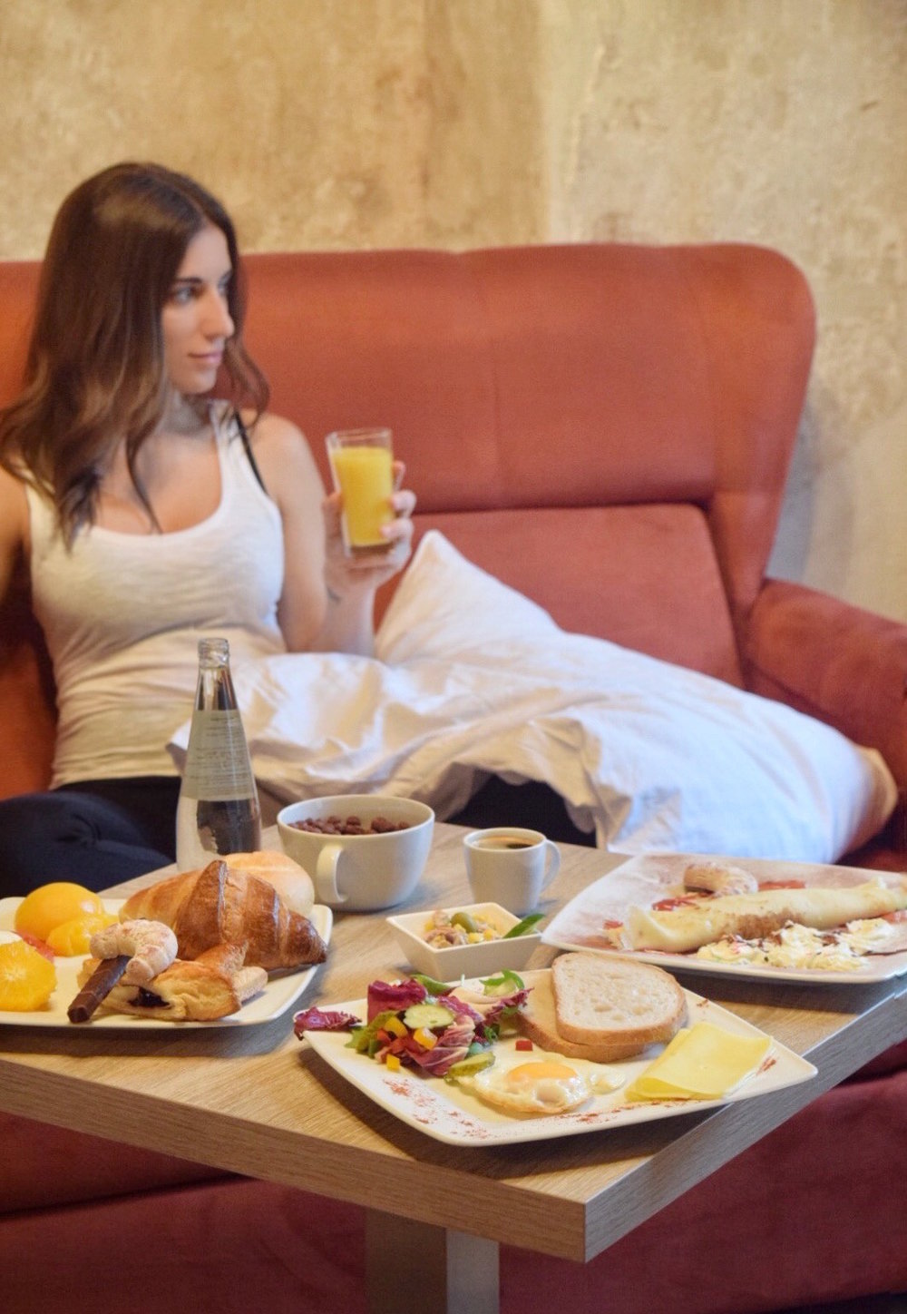Breakfast in room | Hotel Santi