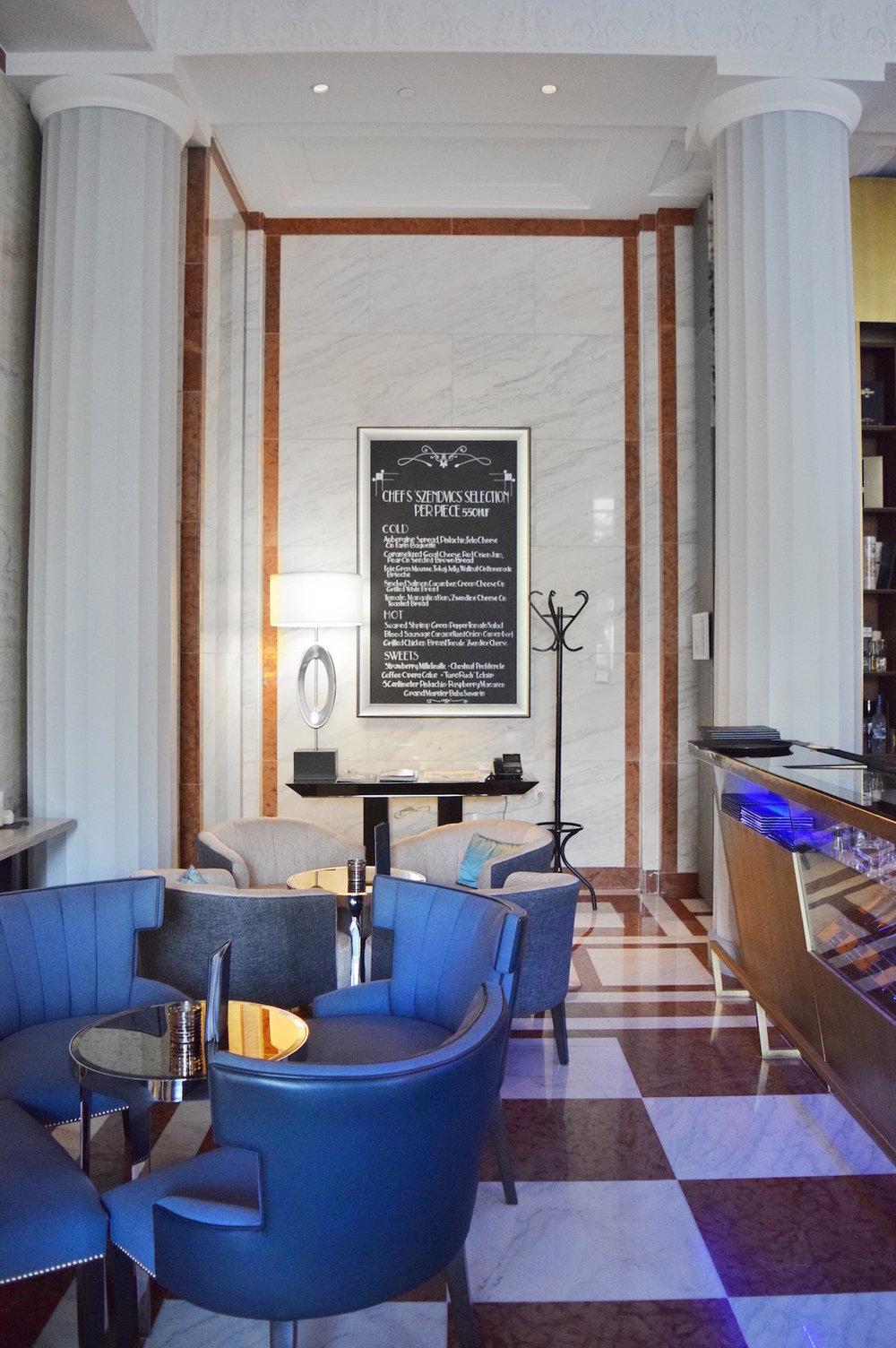 Lounge | Ritz-Carlton Budapest