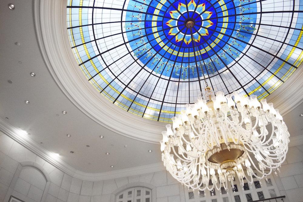 Gorgeous Ceiling | Ritz-Carlton Budapest