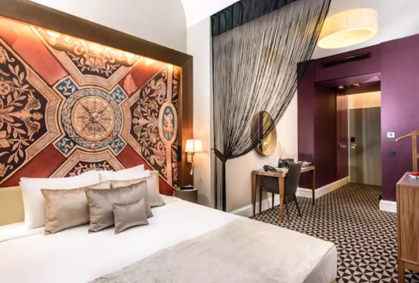 One of the most beautiful hotels in Budapest and a top hotel on TripAdvisor and Yelp. Hotel Moments -  Tessa Juliette http://travelwheretonext.com