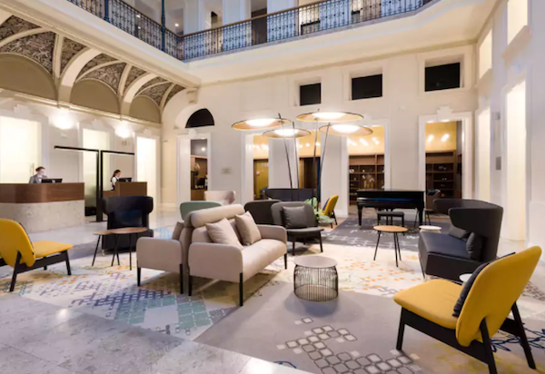Lobby | Hotel Moments Budapest