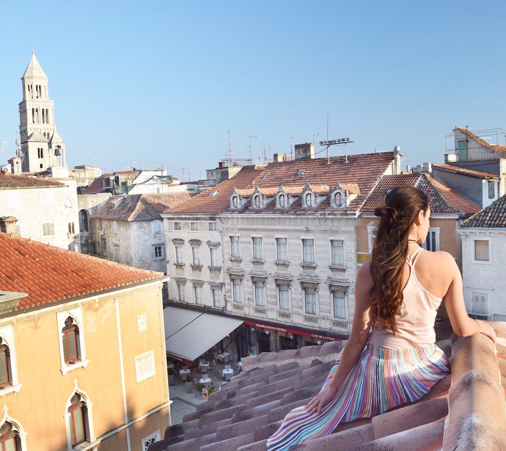 Roof views | Palace Suites Split