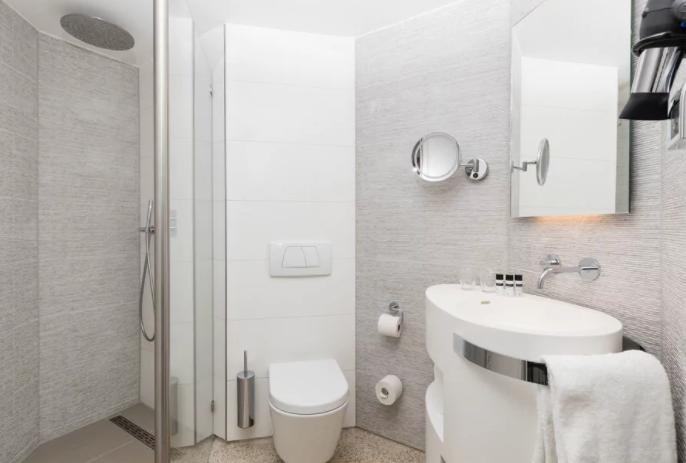 Bathroom | Albus Hotel Amsterdam