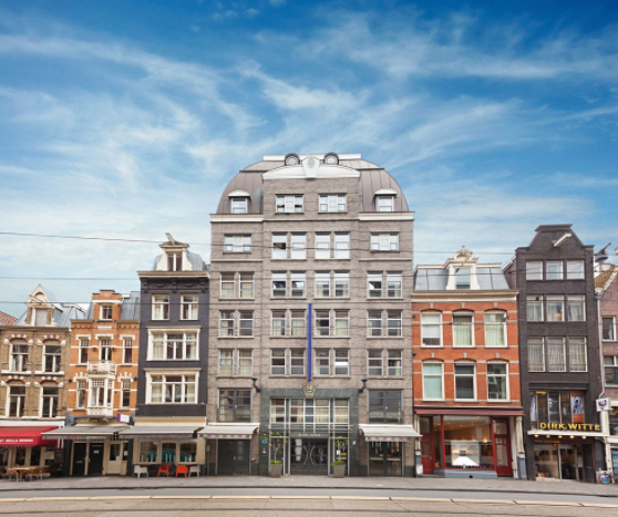 From Street | Albus Hotel Amsterdam