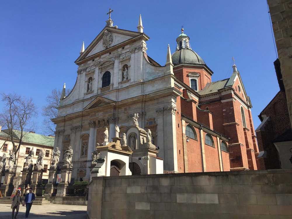 Best Churches in Krakow Poland