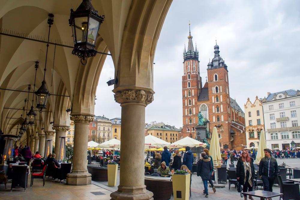 Krakow Poland Medieval Square