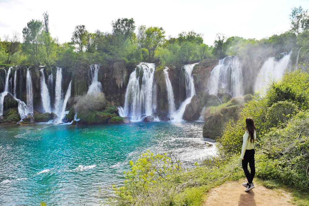 How To Visit Kravica Waterfall From Mostar Bosnia Where To Next Budget Travel Tips Solo