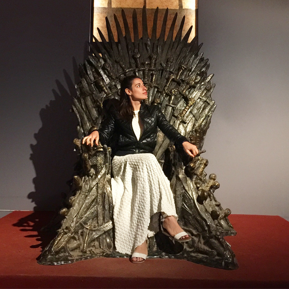 Sit on the Iron Throne