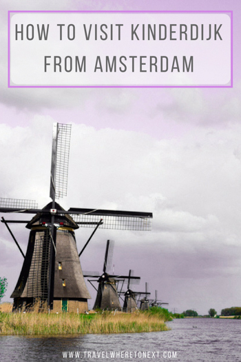 One of the best day trips to take from Amsterdam. Kinderdijk is one of the top things to do in Netherlands and you shouldn't miss it while visiting Amsterdam. Also, it is an easy day trip from Amsterdam!  Tessa Juliette http://travelwheretonext.com