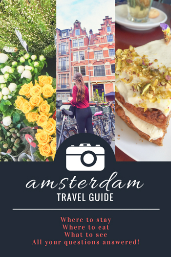 Where to stay in Amsterdam. Where to Eat in Amsterdam. What to do and see in Amsterdam. Top day trips to take from Amsterdam. How to get to Amsterdam. and so so much more!   Tessa Juliette http://travelwheretonext.com